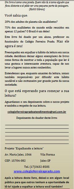 Texto Colegio Ferreira Prado
