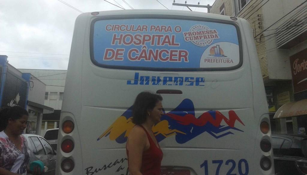 ônibus-hospital de câncer