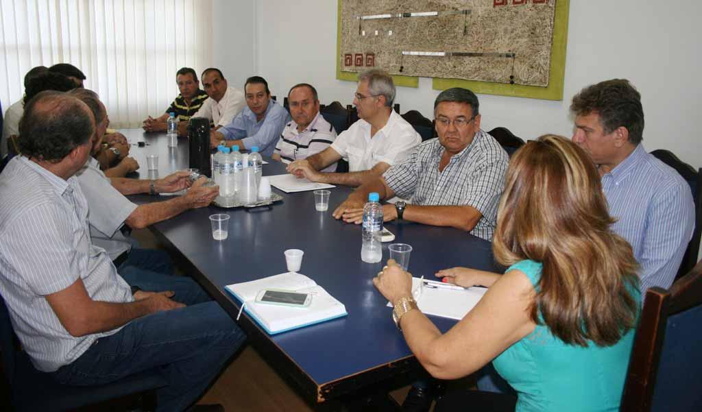 Foto - Reunião Trânsito