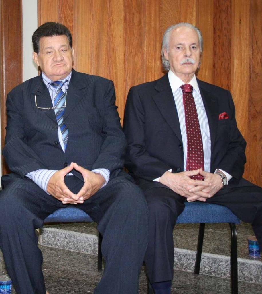 Nilton Pavan e Olinto Ridolfo