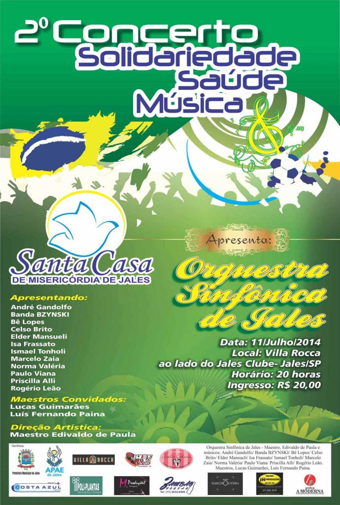 cartaz Santa Casa