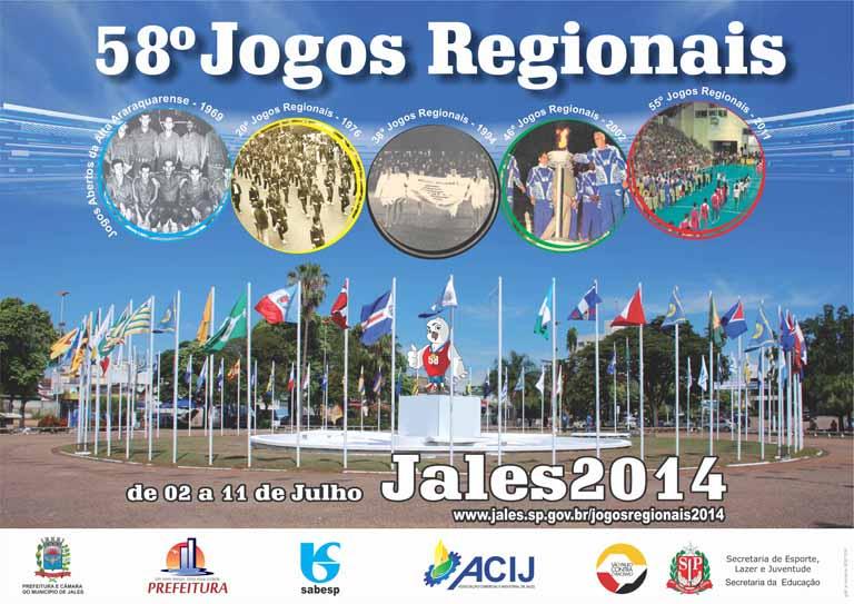 cartaz jogos regionais