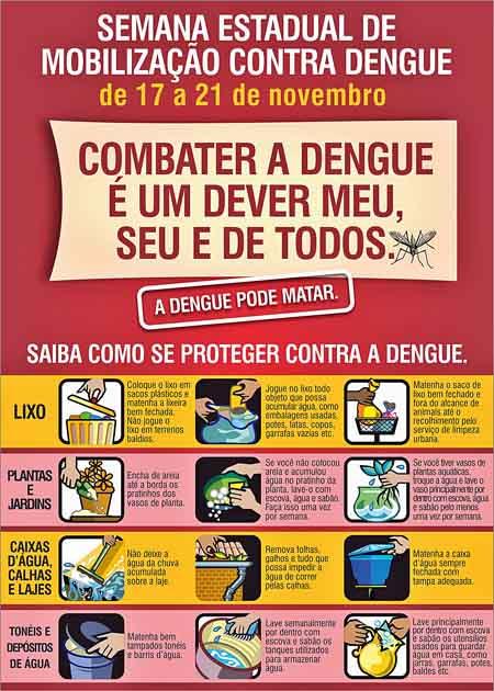 Folheto DENGUE