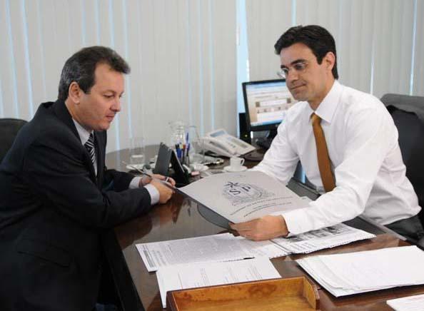 Flá e Rodrigo Garcia
