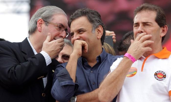 Resultado de imagem para Ciro Paulinho da Força e Eduardo Cunha