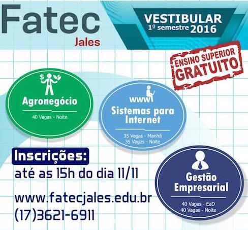 Fatec Vestibular 2016