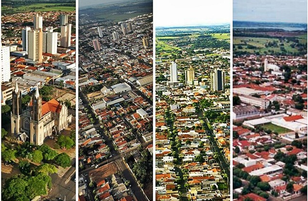 4 cidades