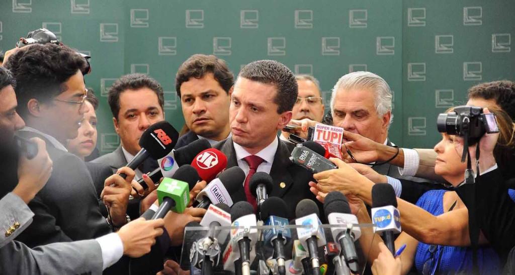 Fausto Pinato durante coletiva