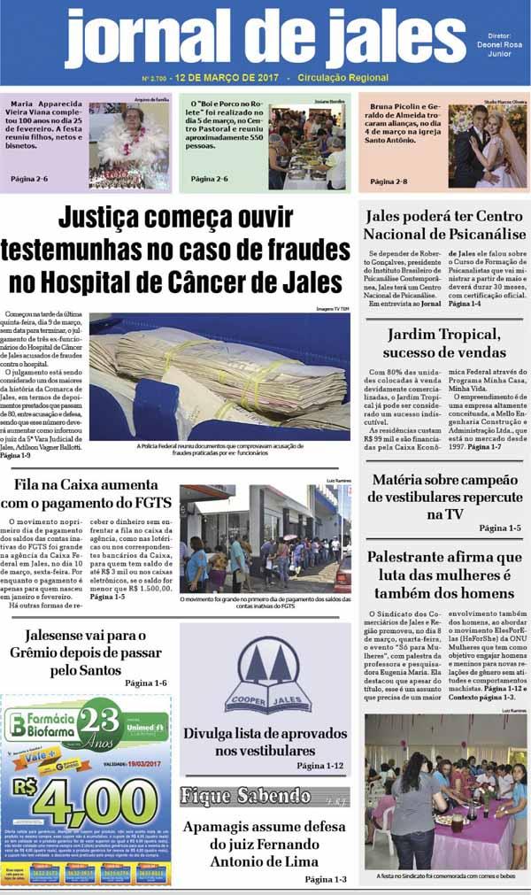 capa JJ 12.03.2017