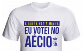 camiseta votei no aécio