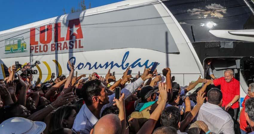 21/08/2017- Lula participa de ato em ItabaianaFoto: Ricardo Stuckert
